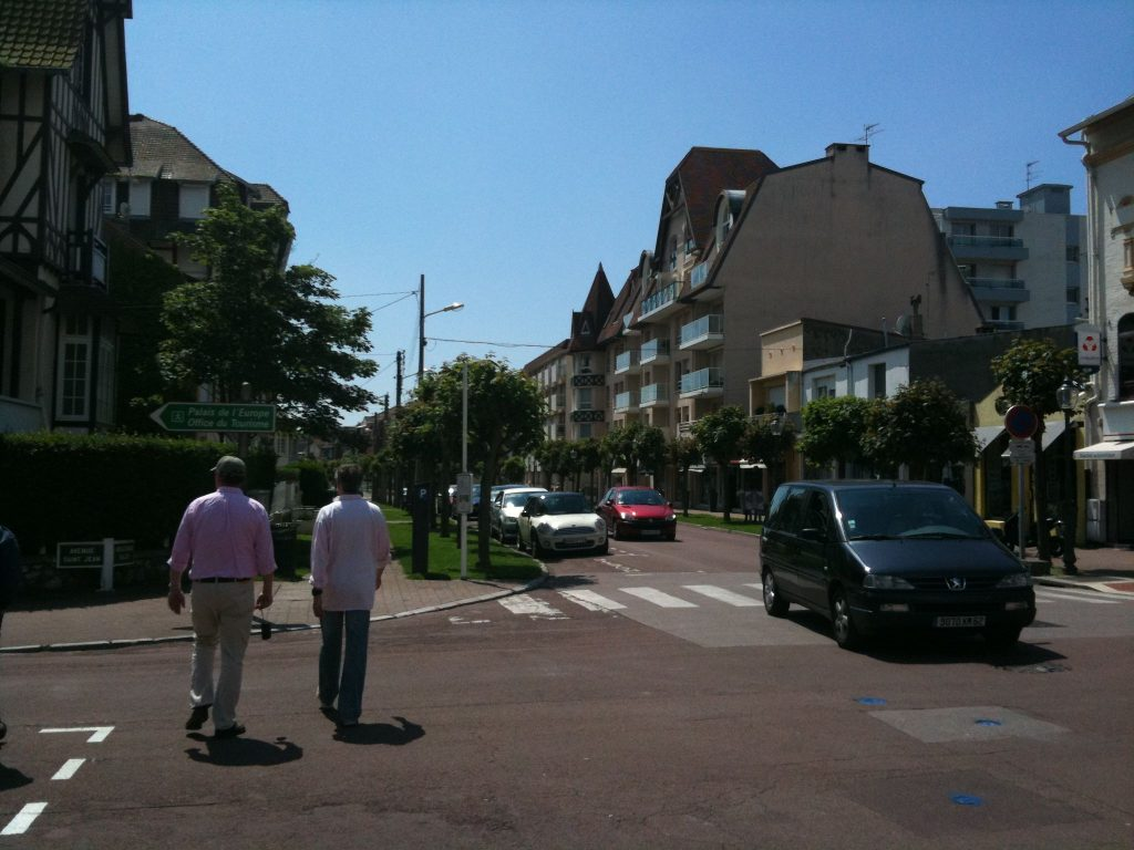 Walking into Le Touquet