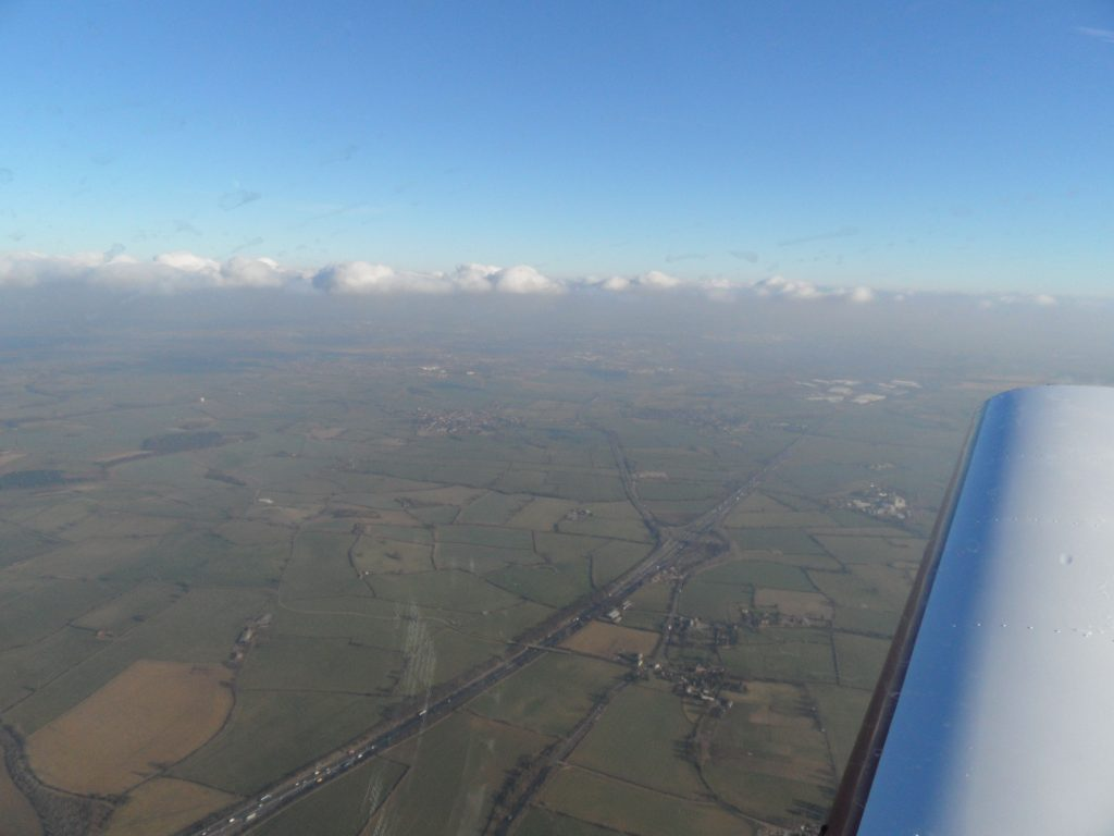 View after departure from Kemble