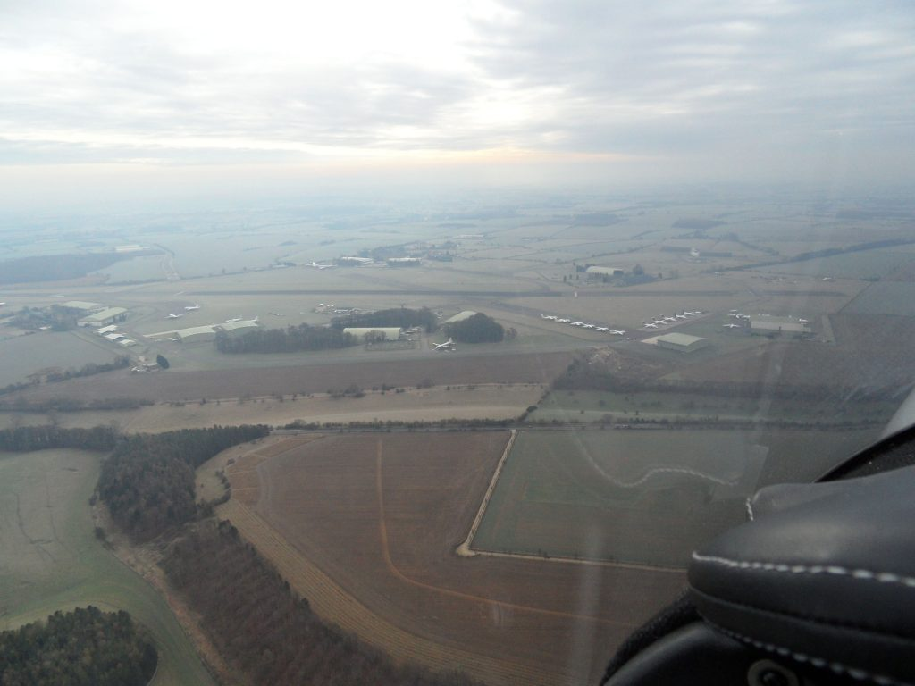 Deadside descent into Kemble from the north