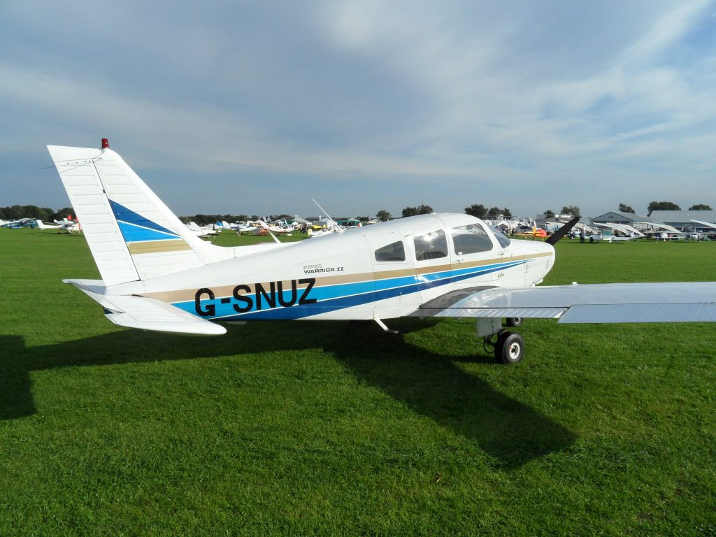 SNUZ parked up at Sywell