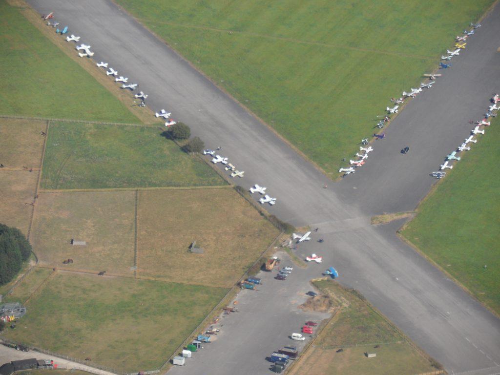 Overhead Thorny Island Airfield