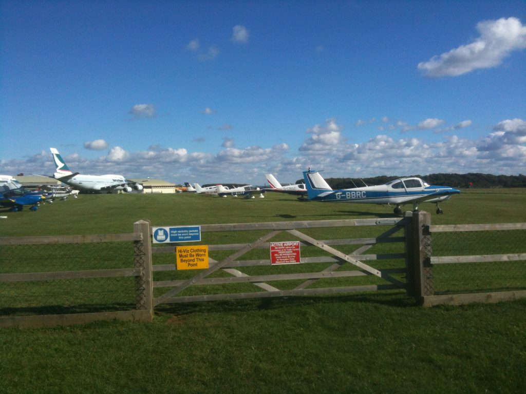 Visitors parked up