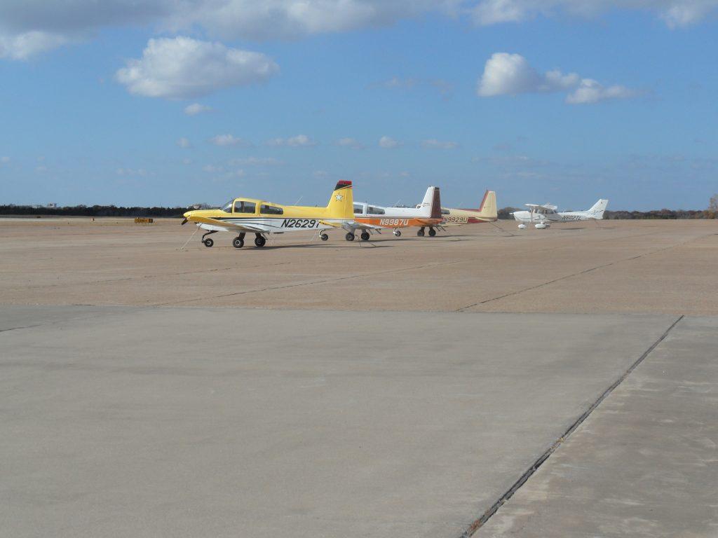 Slipstream aircraft at Dallas Executive Airport