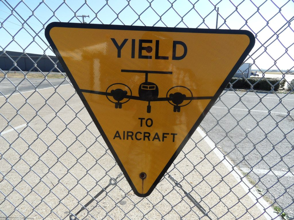 Yield to aircraft