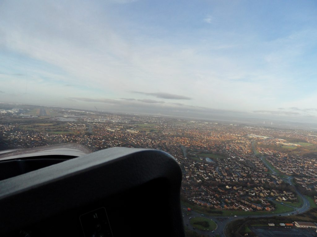 Approaching Filton Airport