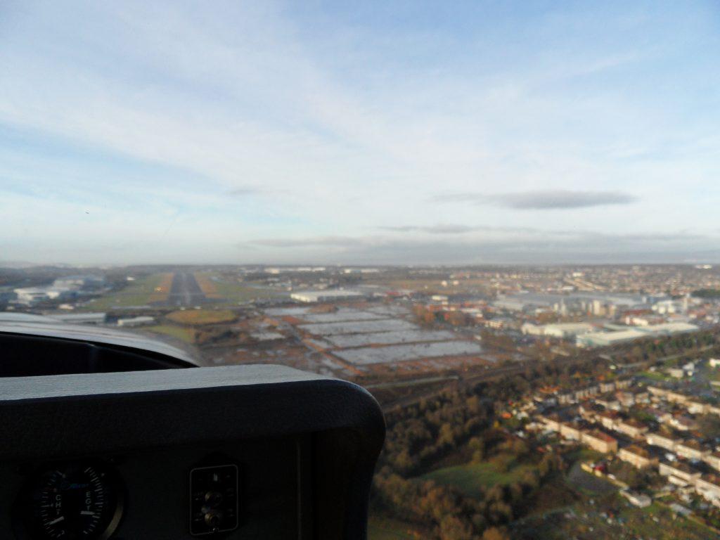 Inbound to Bristol Filton