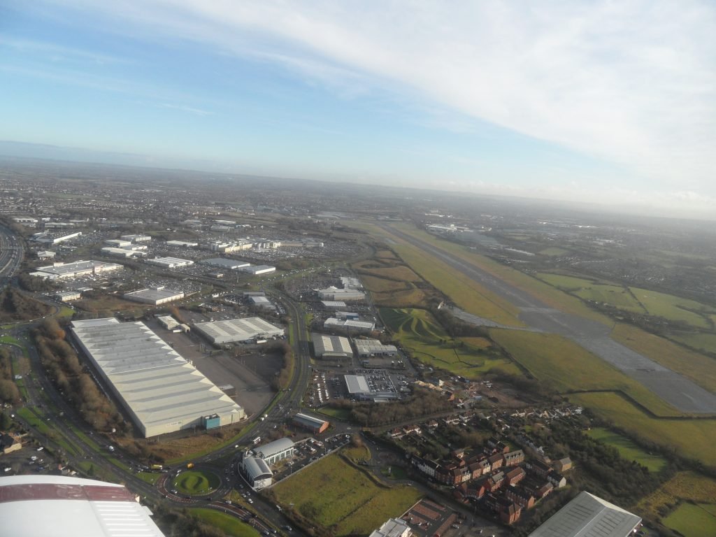 Climbout departing Filton