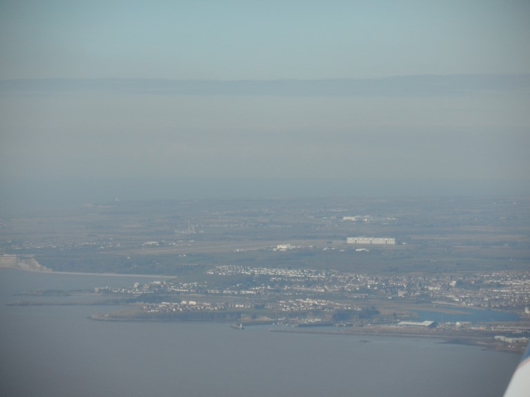 Cardiff Airport Approach