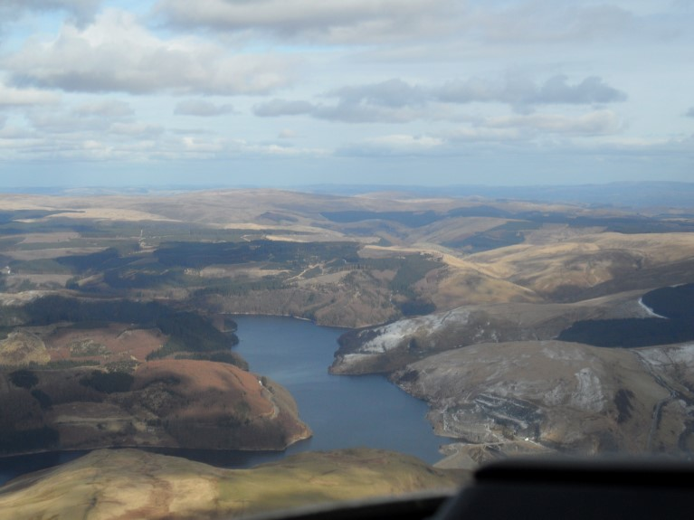 South Wales from the air