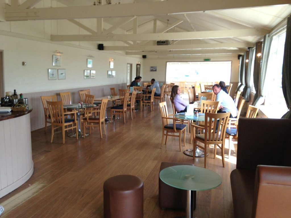 Stapleford airport cafe inside