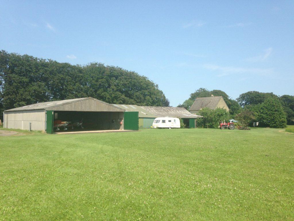 Garston Farm hangars