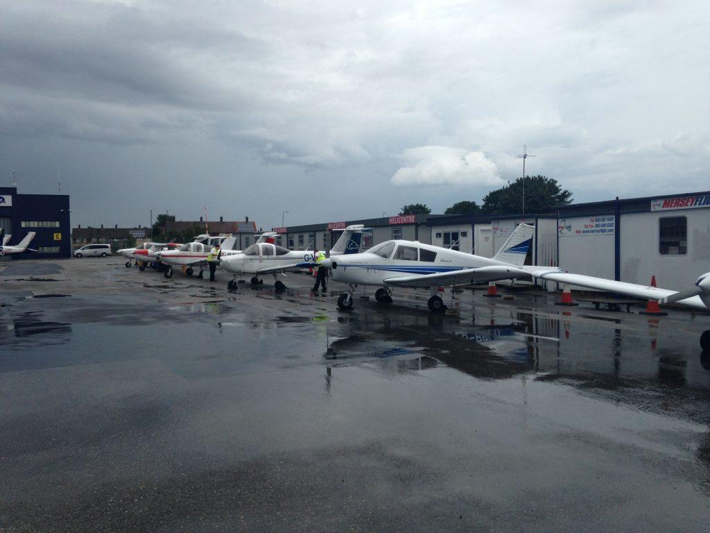 Flying school aircraft