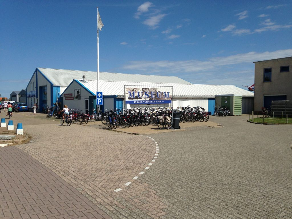 Bike hire and museum at Texel Airport