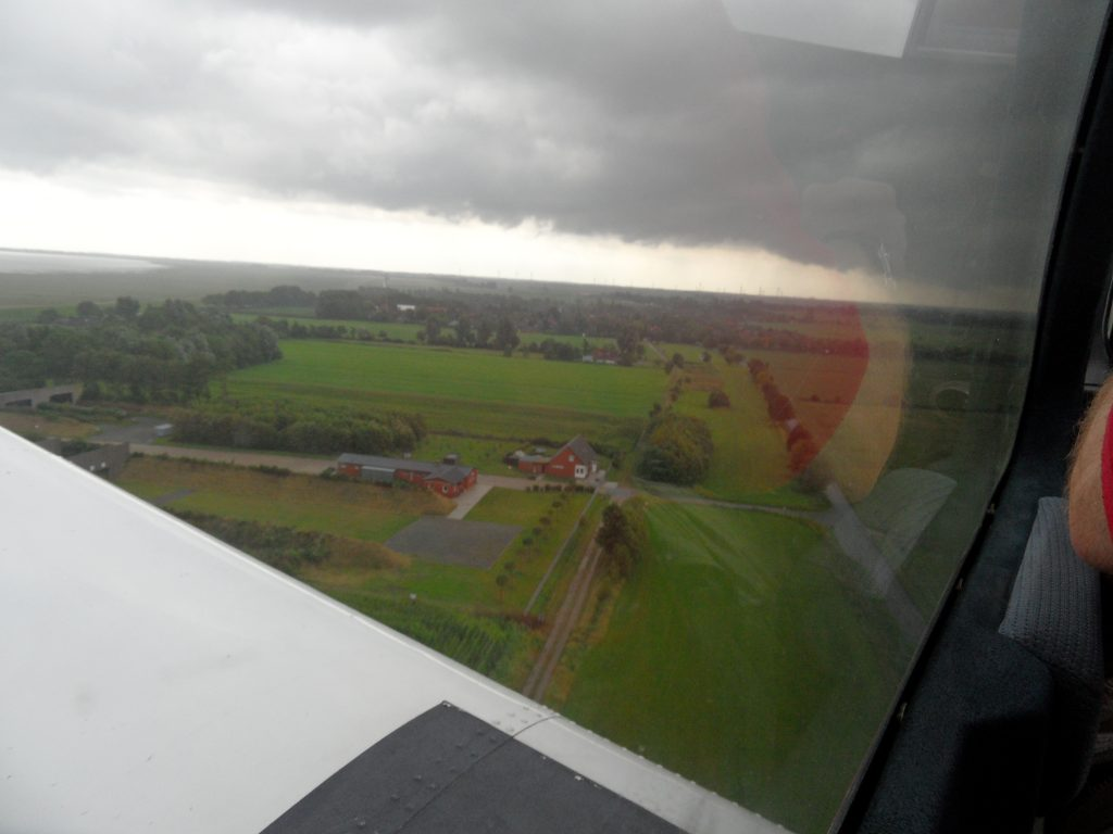 Wilhelmshaven after take-off