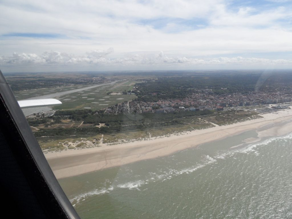 Departing Le Touquet
