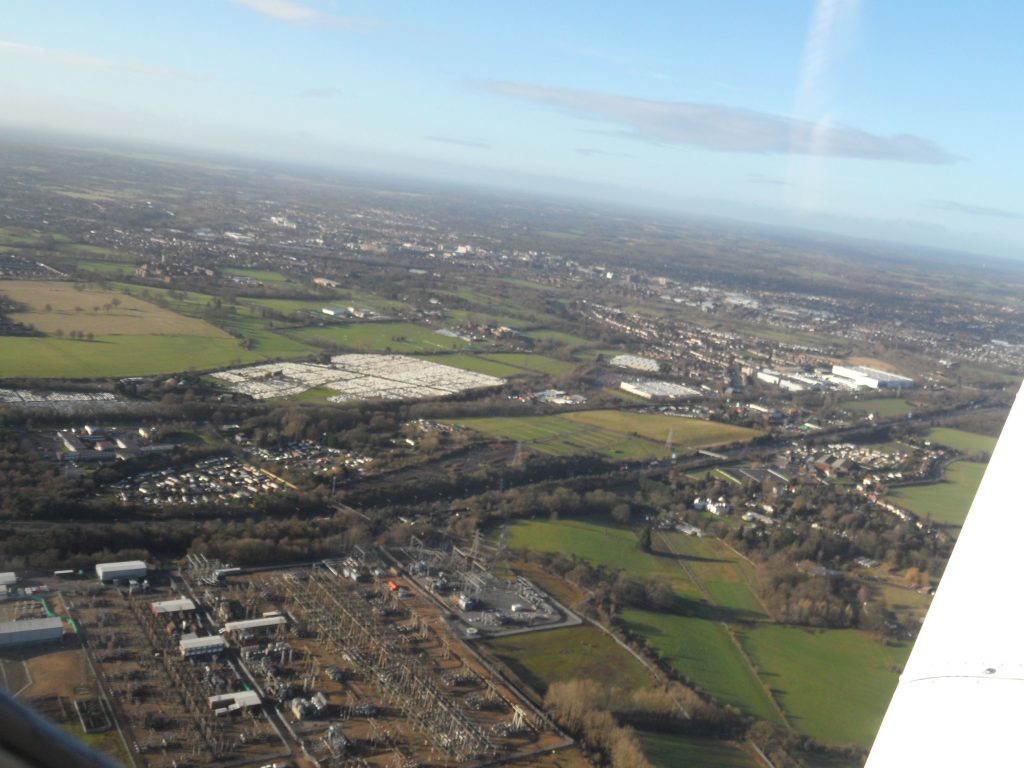 VRP west of Elstree Airfield