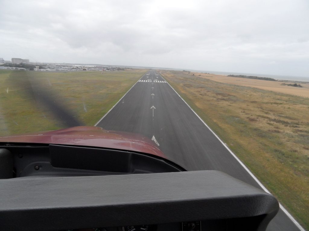 Runway at La Rochelle