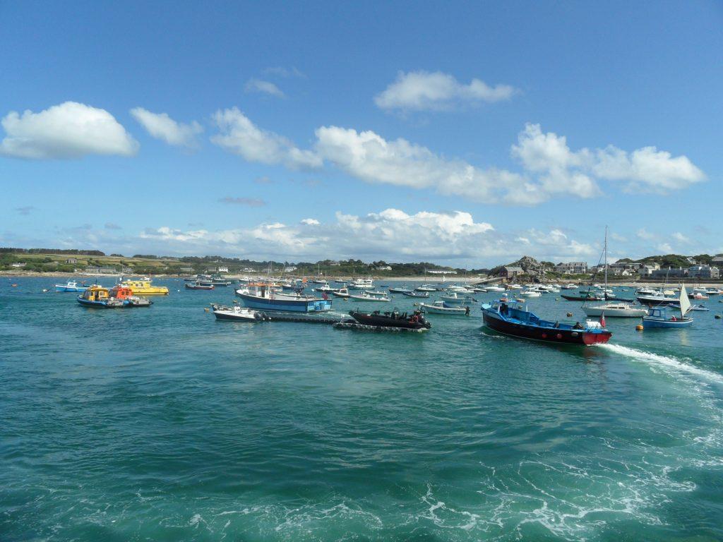 Busy ferry