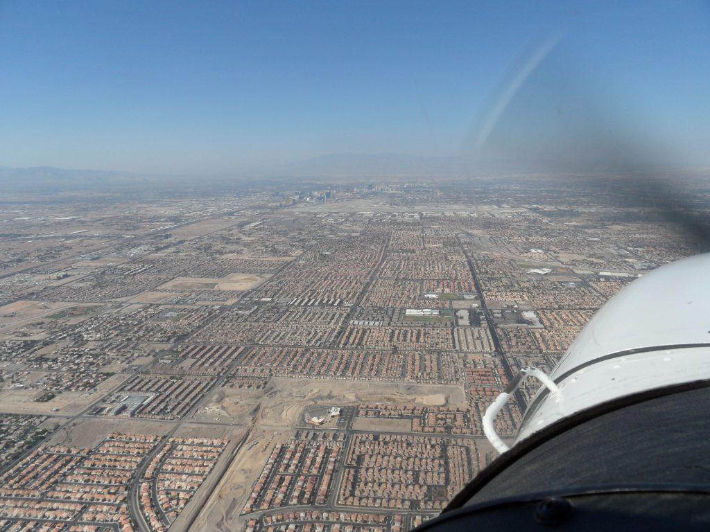 Urban sprawl Las Vegas