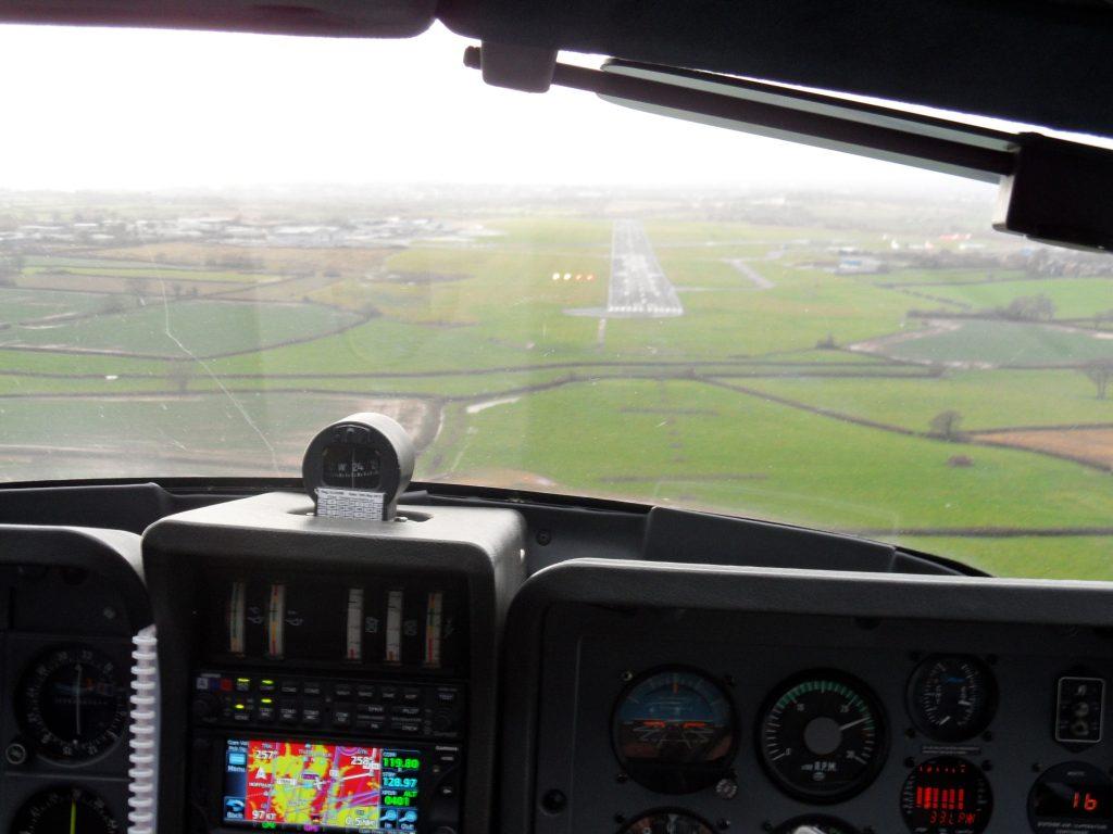 Final approach Exeter
