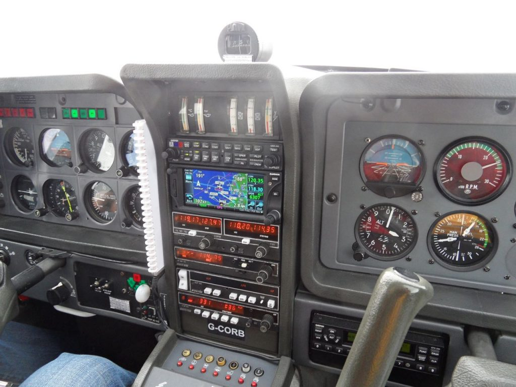 GTN650 tracking