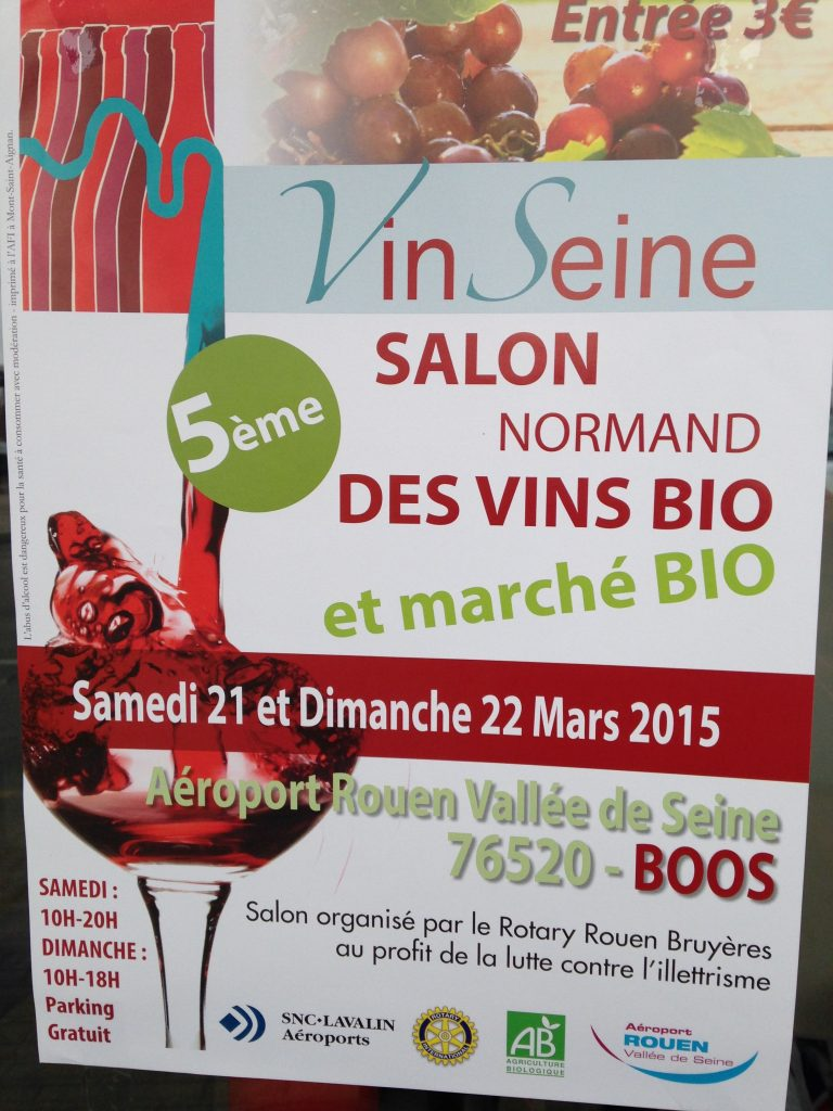 Poster for the Wine Expo
