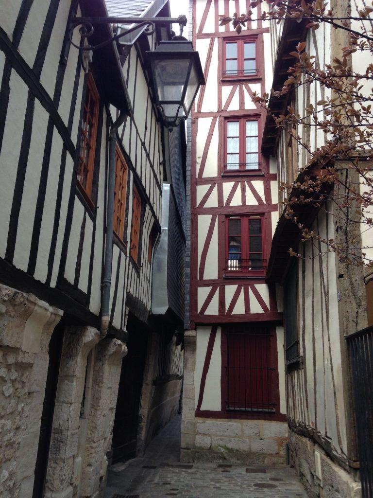 Medieval alleyways