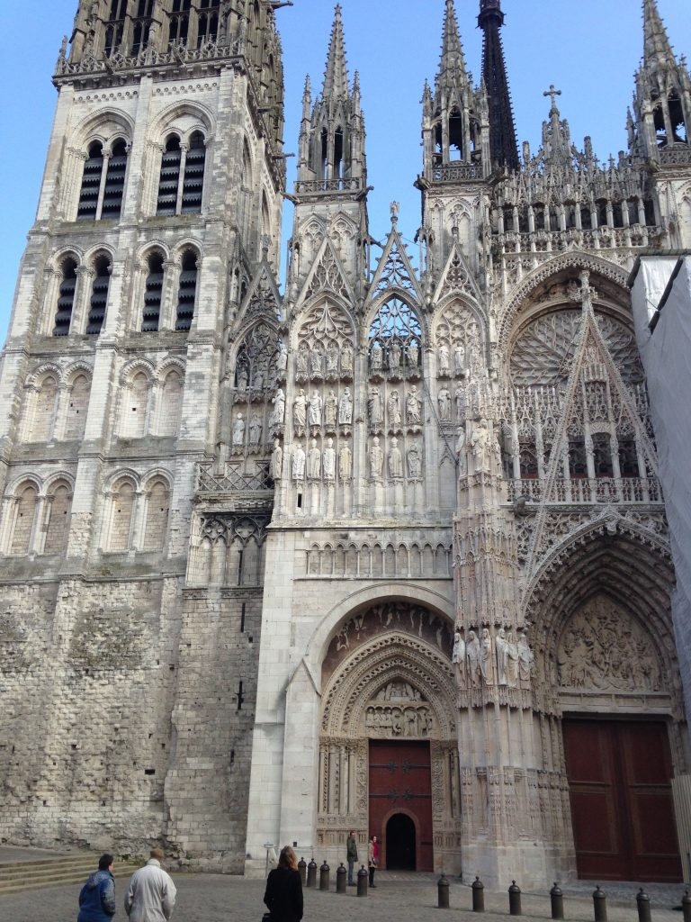 Rouen Cathedral - one of France's largest