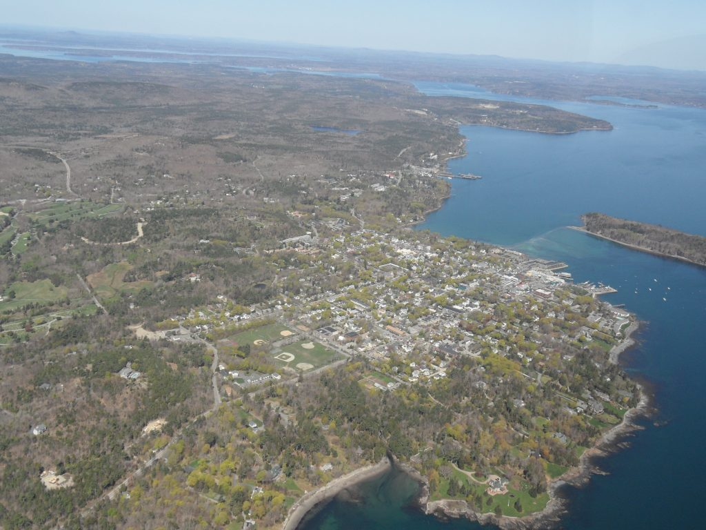 Bar Harbor from south west