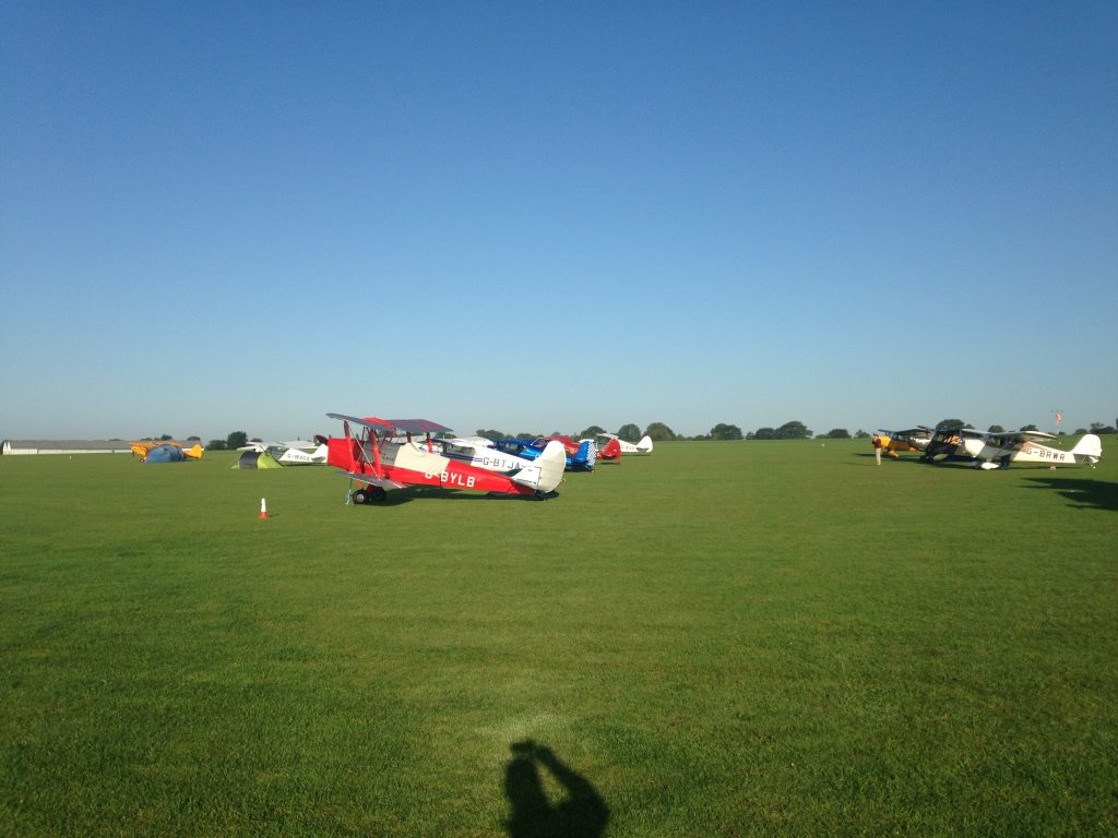 Sywell grass parking