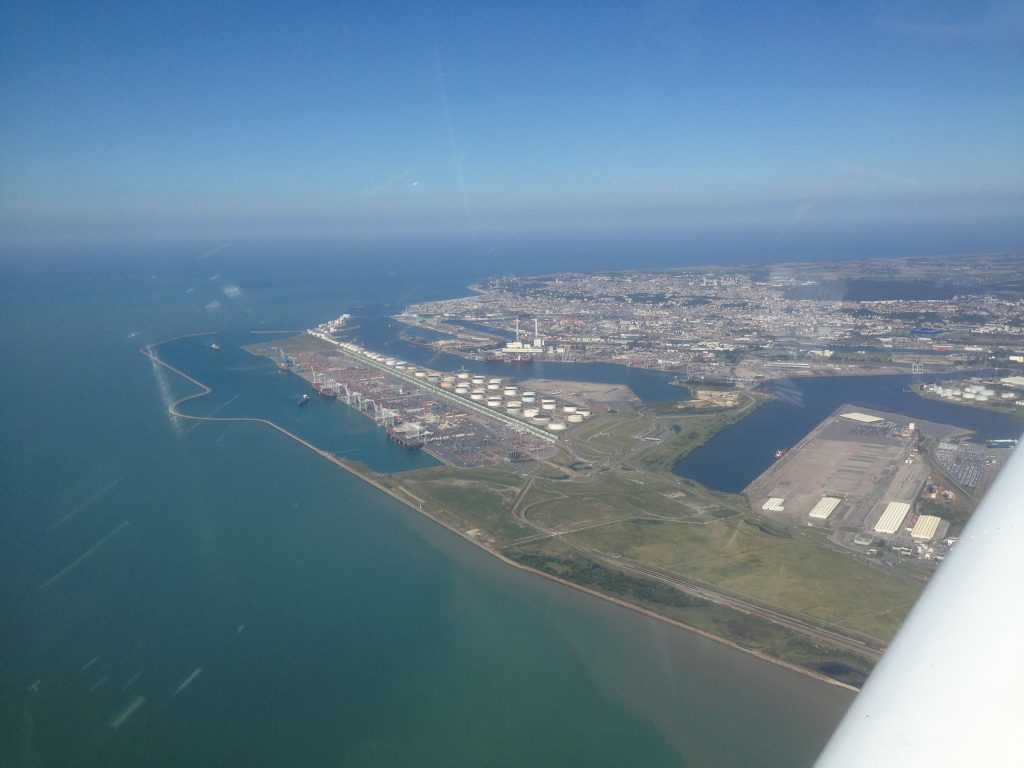 South of Le Havre