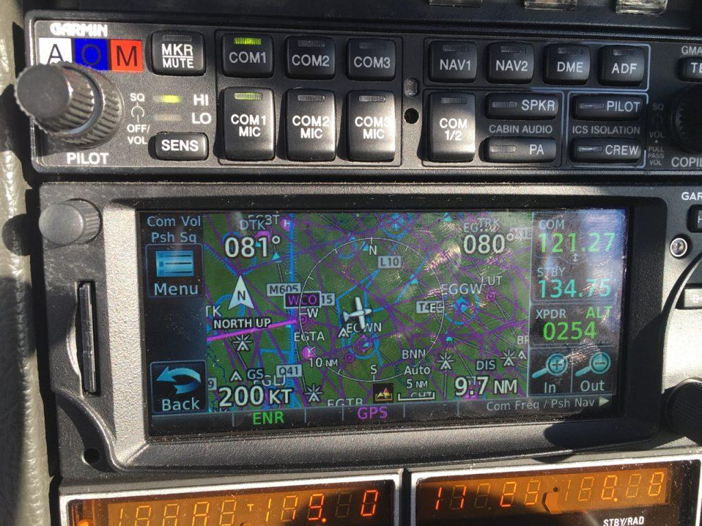 200 knots groundspeed