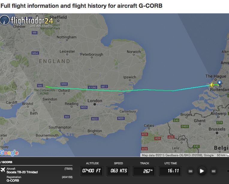 Flight Radar Track