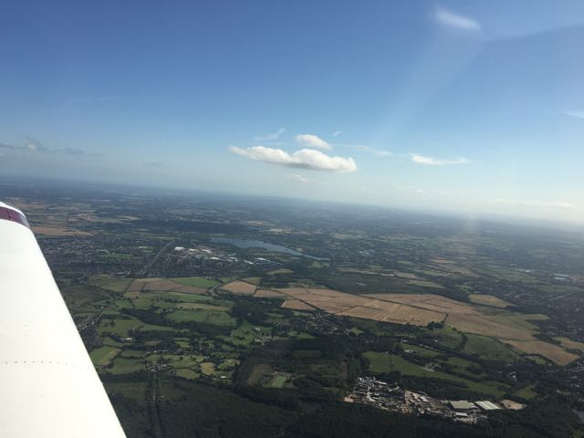 Sunshine for the VFR flight home