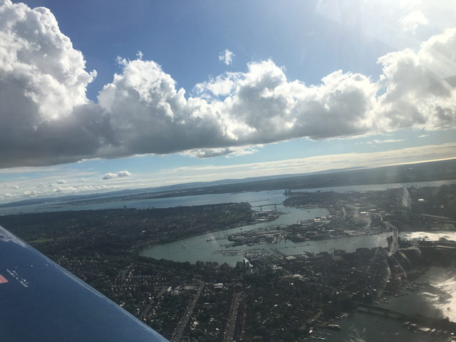 Great views of southampton water and tributaries
