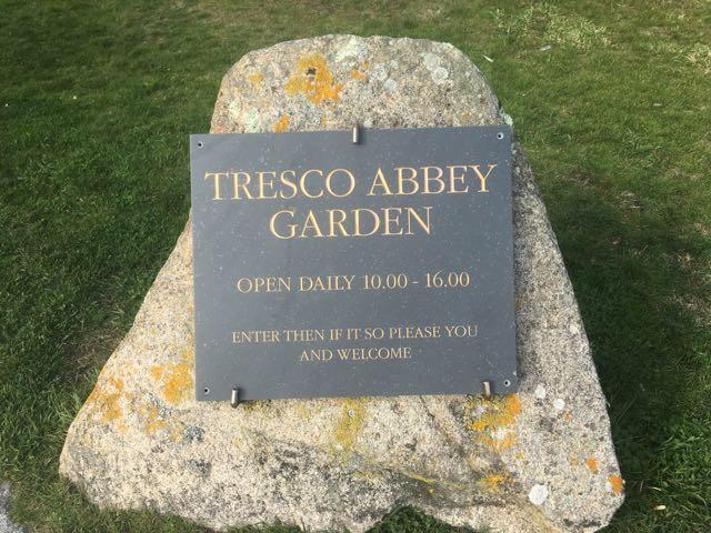 Famous Tresco Gardens