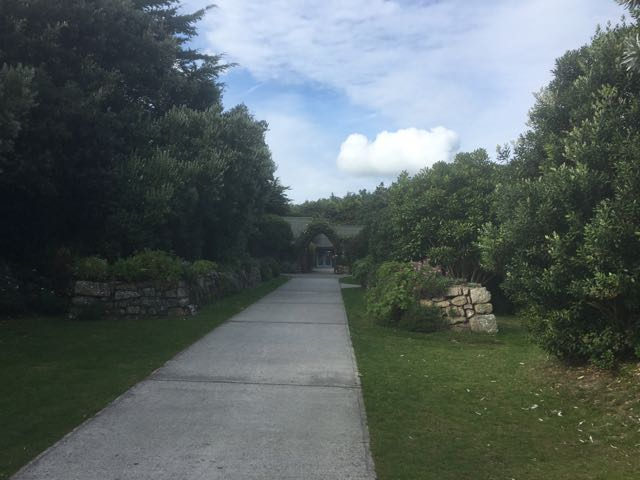 Entrance to Tresco Gardens
