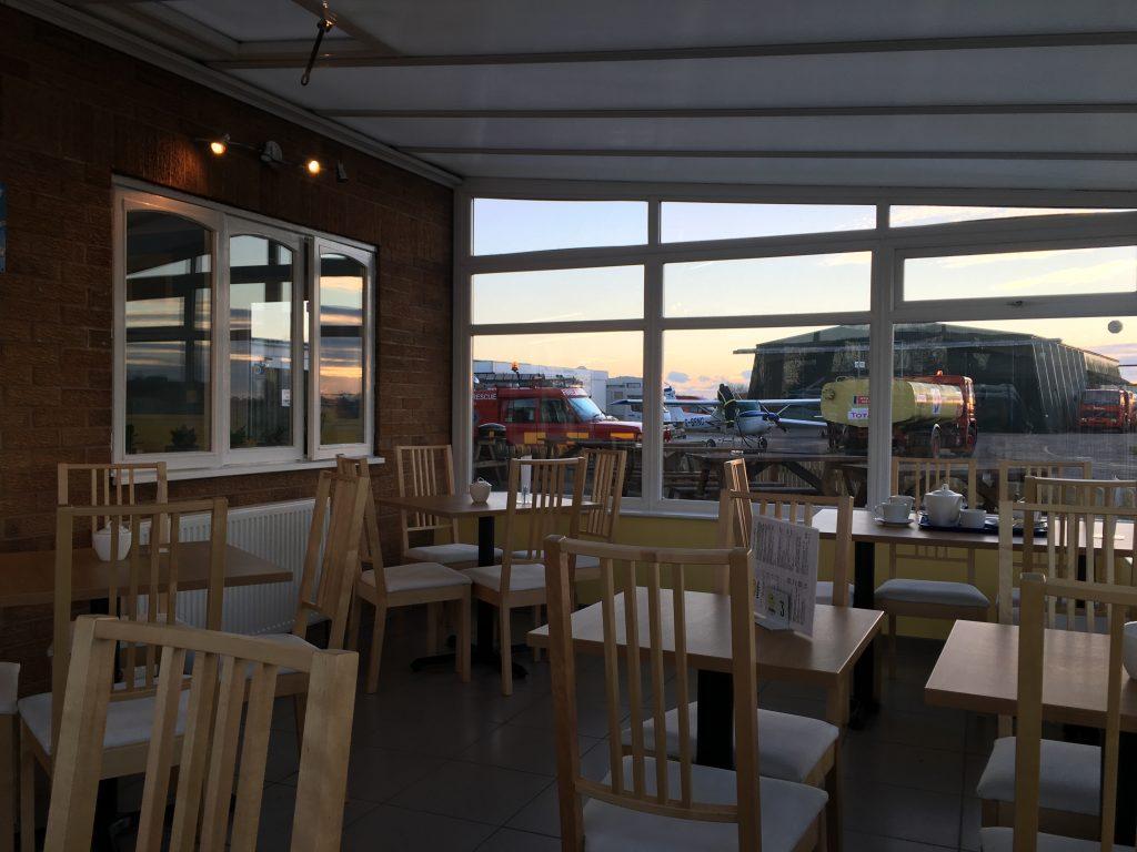 Sandtoft airport cafe