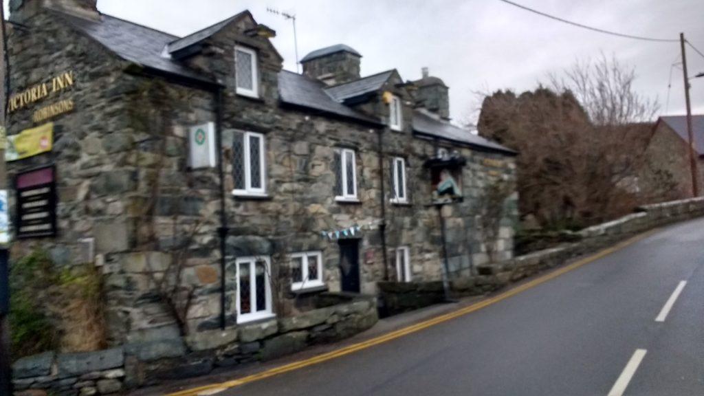 Llanbedr high street