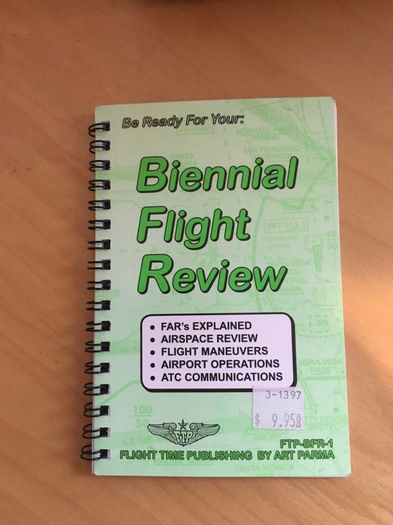 BFR flight review