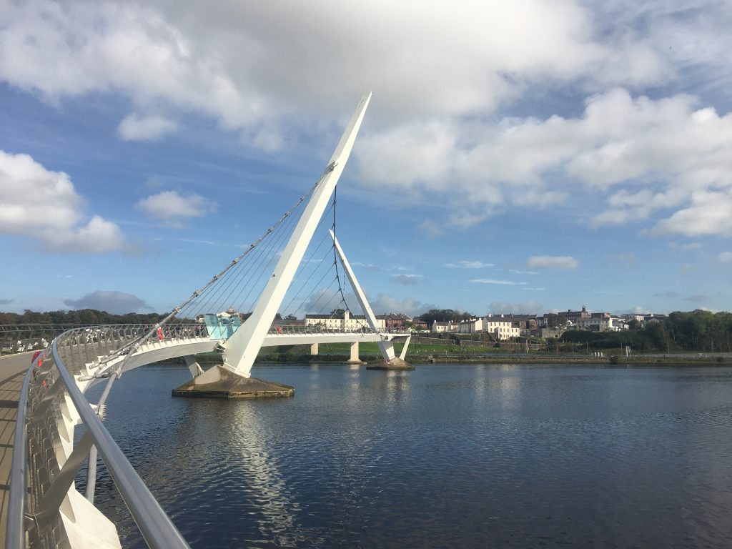 Peace Bridge, Derry, Northern Ireland
